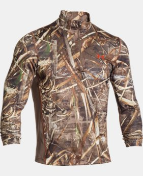 New Arrival  Men's UA Tech™ Scent Control ¼ Zip   $64.99