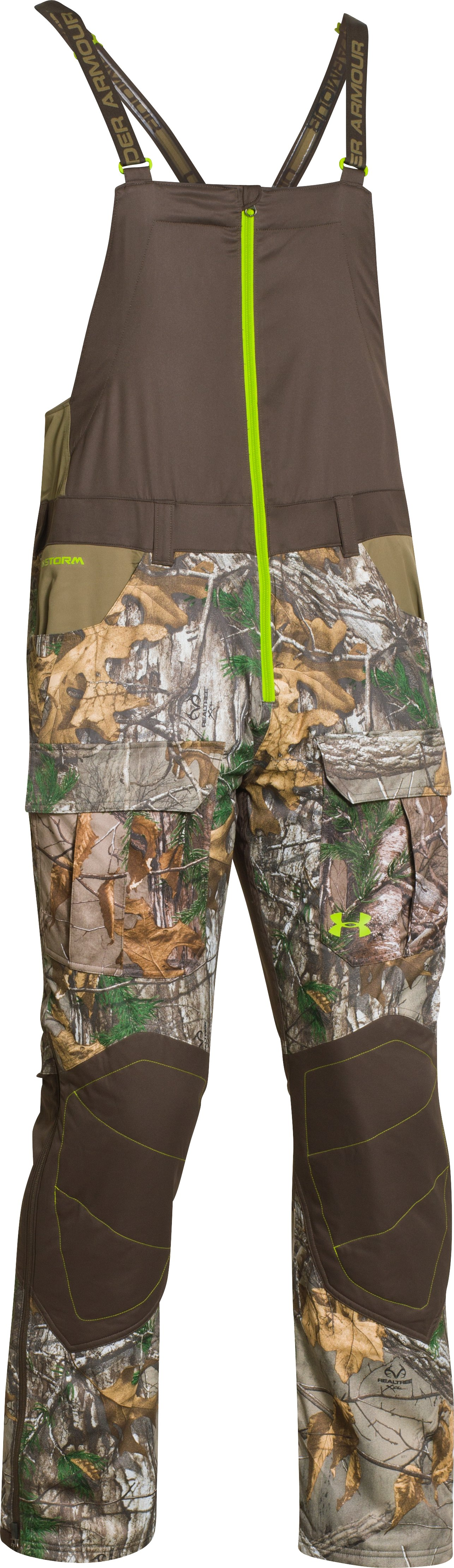 Men's UA Scent Control Barrier Bib, REALTREE AP-XTRA, undefined