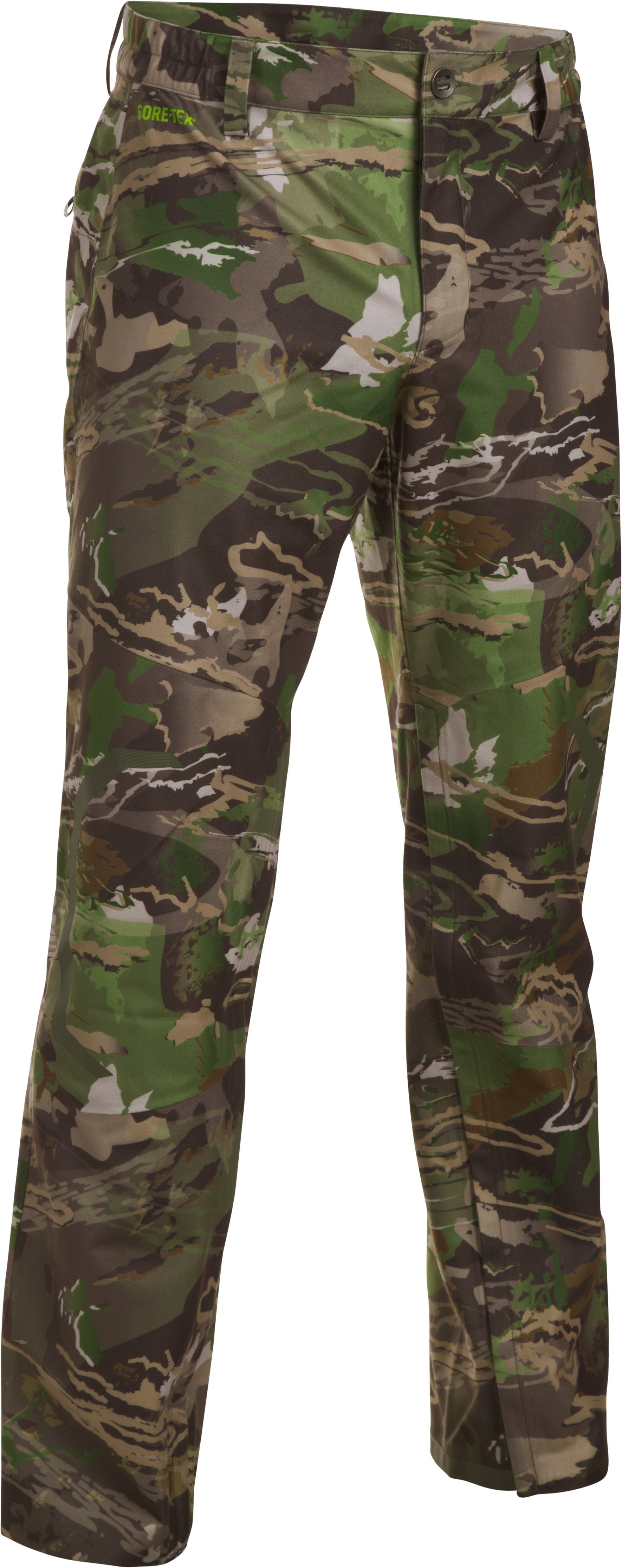 UA Storm Gore-Tex® Essential Rain Pants, RIDGE REAPER® FOREST