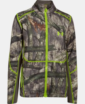 Boys' UA ColdGear® Infrared Scent Control Jacket LIMITED TIME: FREE U.S. SHIPPING 1 Color $53.99