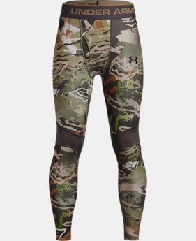 Boys' UA ColdGear® Armour Scent Control Leggings  1  Color Available $49.99