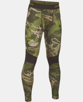 Boys' UA ColdGear® Armour Scent Control Leggings LIMITED TIME OFFER 1 Color $37.49