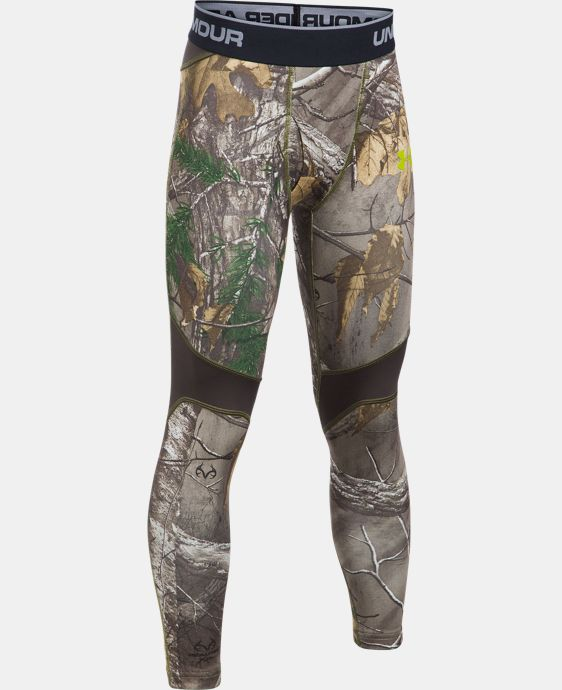 Boys' UA ColdGear® Armour Scent Control Leggings  1 Color $33.74