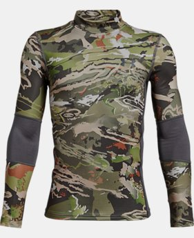 Boys' UA ColdGear® Armour Scent Control Mock  1  Color Available $49.99