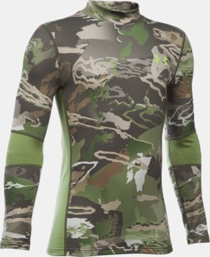 Boys' UA ColdGear® Armour Scent Control Mock LIMITED TIME: 25% OFF 2 Colors $37.49
