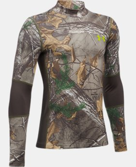 Boys' UA ColdGear® Armour Scent Control Mock  1 Color $44.99