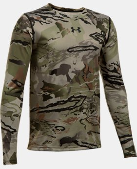 Boys' UA Scent Control Tech™ Long Sleeve  2  Colors Available $29.99