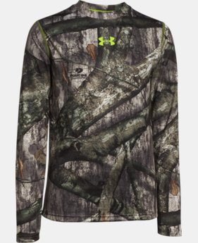 Boys' UA Tech™ Scent Control Long Sleeve T-Shirt   $29.99