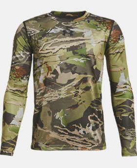 Boys' UA Scent Control Tech™ Long Sleeve  1  Color Available $44.99