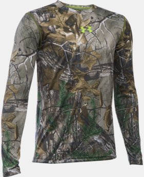Boys' UA Tech™ Scent Control Long Sleeve T-Shirt LIMITED TIME: FREE SHIPPING 1 Color $39.99
