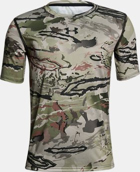 Boys' UA Scent Control Tech™ Short Sleeve  2  Colors Available $20.99