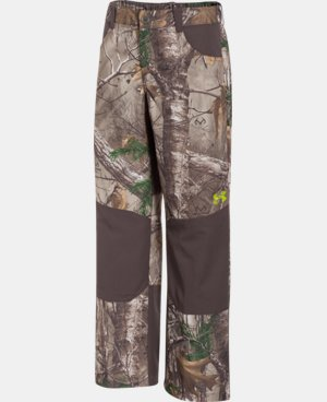 Boys' UA Storm Scent Control Field Pants LIMITED TIME: FREE U.S. SHIPPING 1 Color $44.99