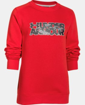 Boys' UA Established Crew  1 Color $20.99