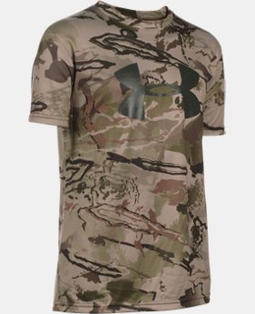 Boys' UA Camo Graphic Short Sleeve T-Shirt LIMITED TIME: FREE SHIPPING  $29.99