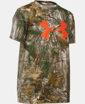 Boys' UA Camo Graphic Short Sleeve T-Shirt