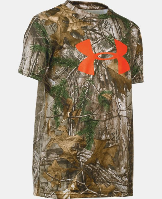 Boys' UA Camo Graphic Short Sleeve T-Shirt LIMITED TIME: 25% OFF 4 Colors $22.49