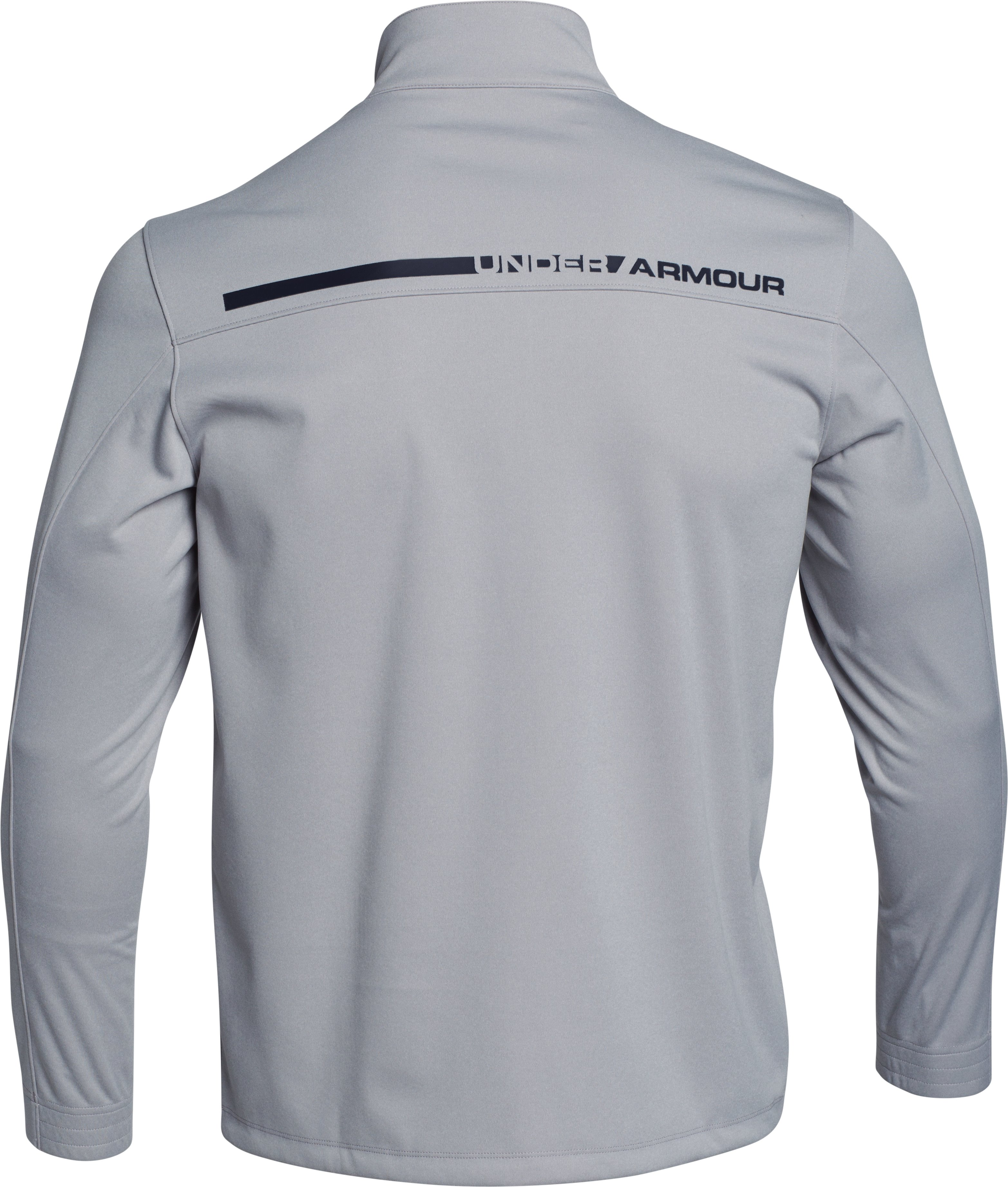 Men's UA Storm Elemental ½ Zip, True Gray Heather,