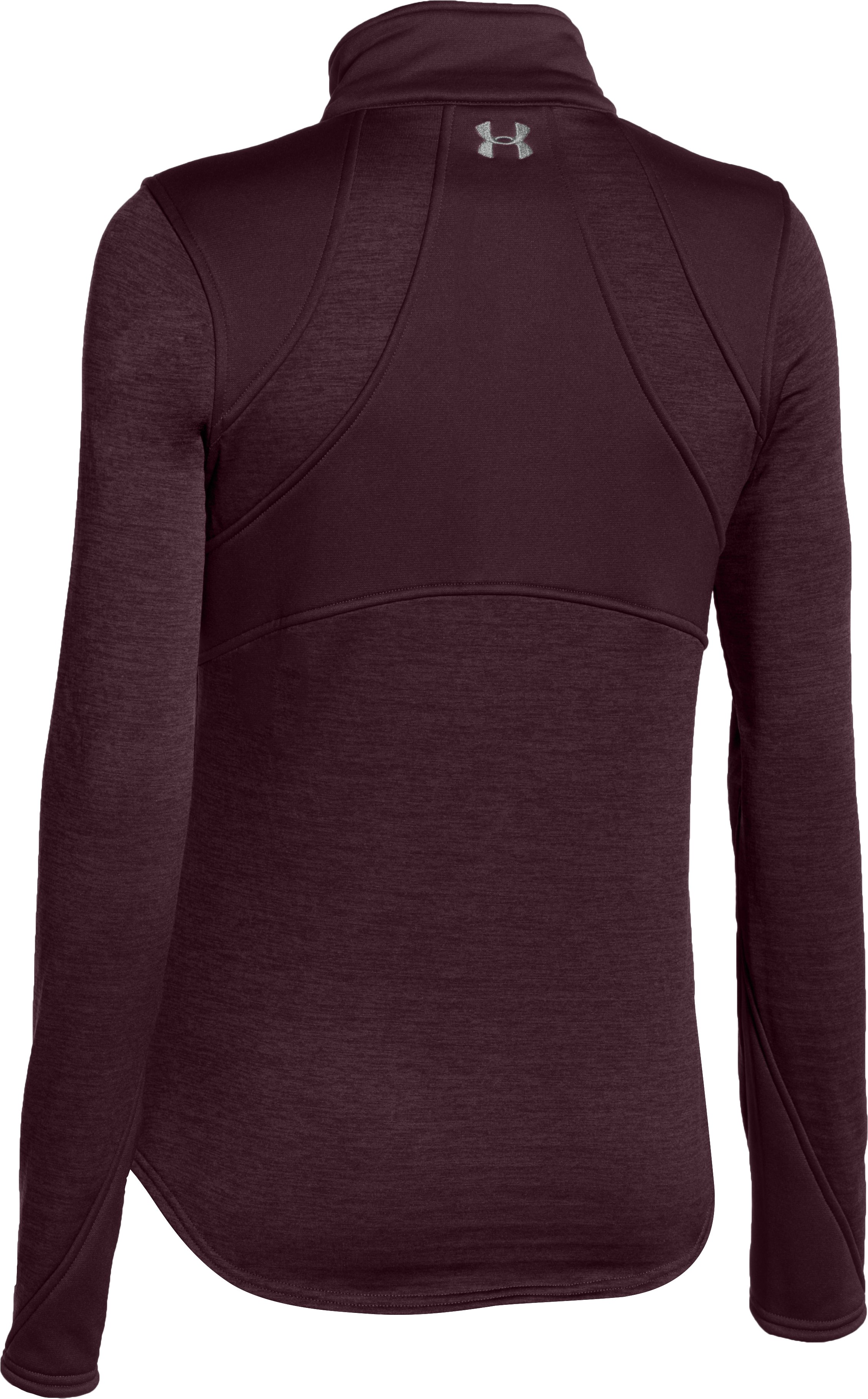 Women's UA Gamut ¼ Zip, Ox Blood, undefined