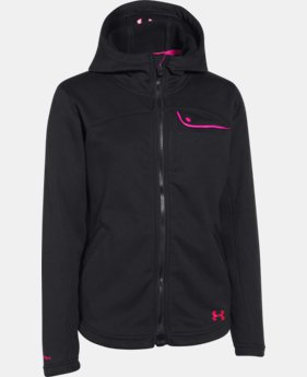 Girls' UA Extreme ColdGear® Hooded Jacket  1 Color $74.99
