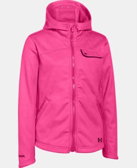 Girls' UA Extreme ColdGear® Hooded Jacket  2 Colors $56.24