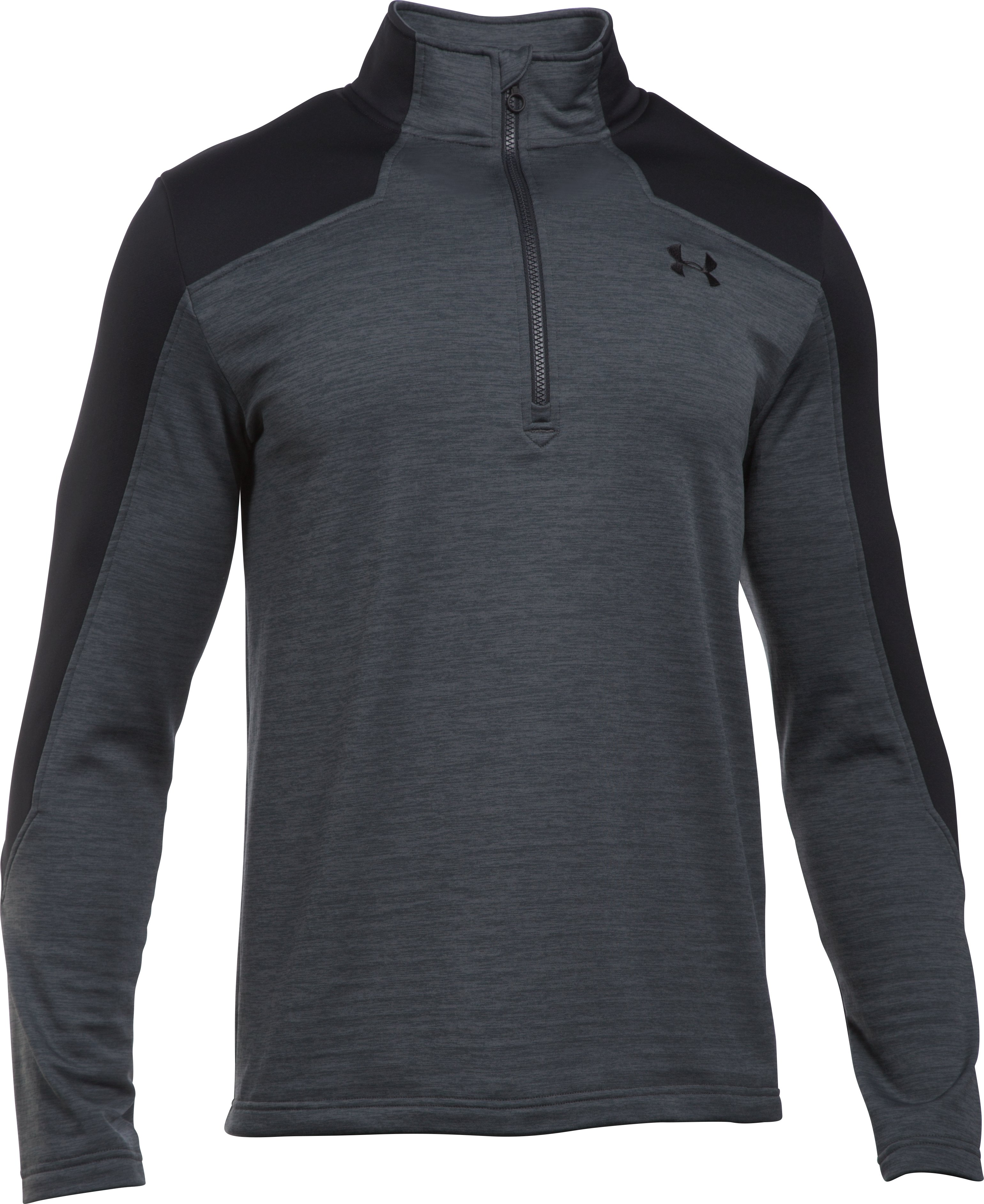 Men's UA Expanse ¼ Zip, STEALTH GRAY