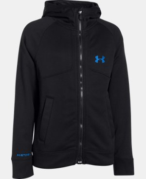 Boys' UA Storm ColdGear® Extreme Hoodie LIMITED TIME: 20% OFF 1 Color $74.99