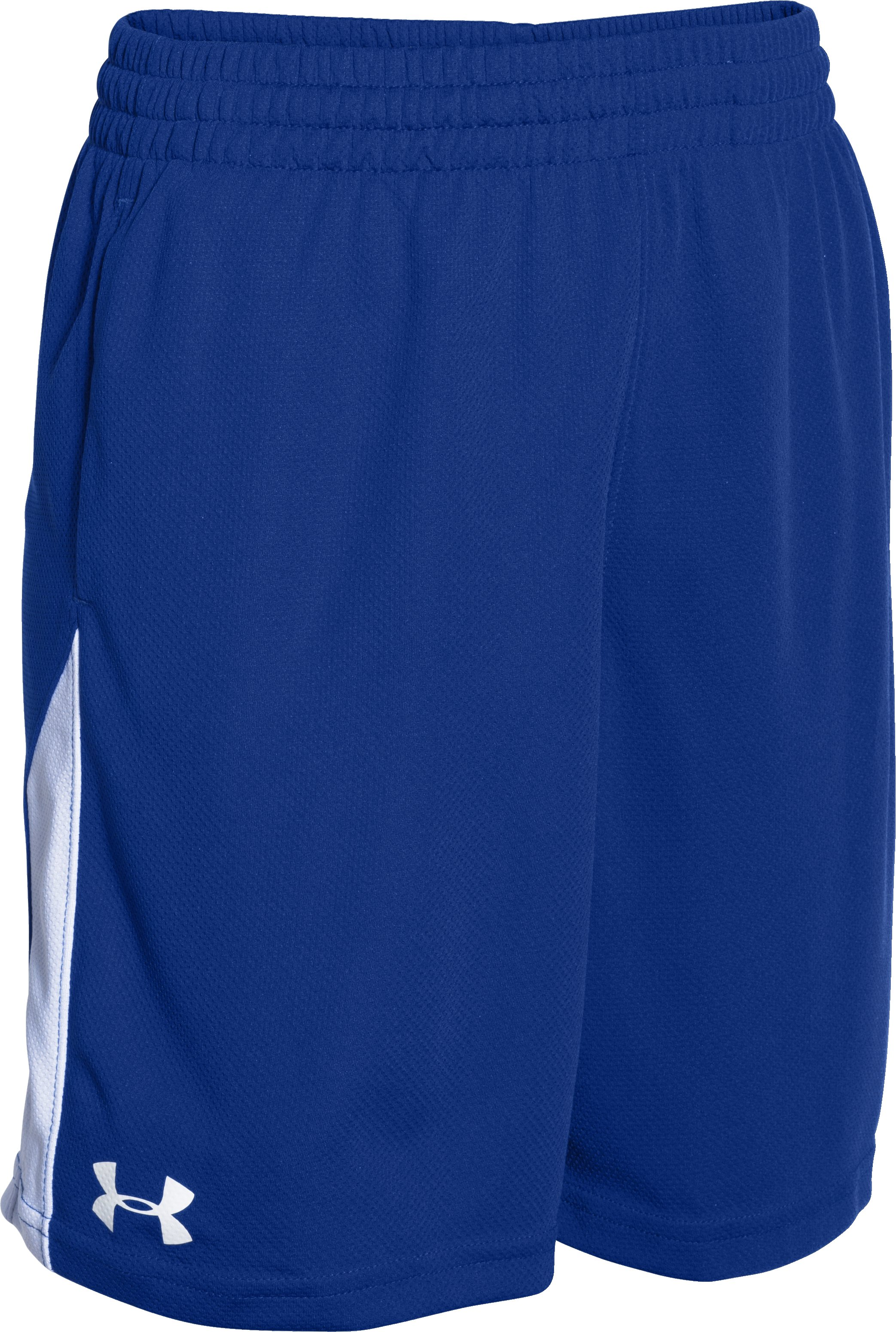 Boys' UA Assist Shorts, Royal,