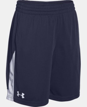 New Arrival  Boys' UA Assist Shorts LIMITED TIME: FREE SHIPPING 1 Color $29.99