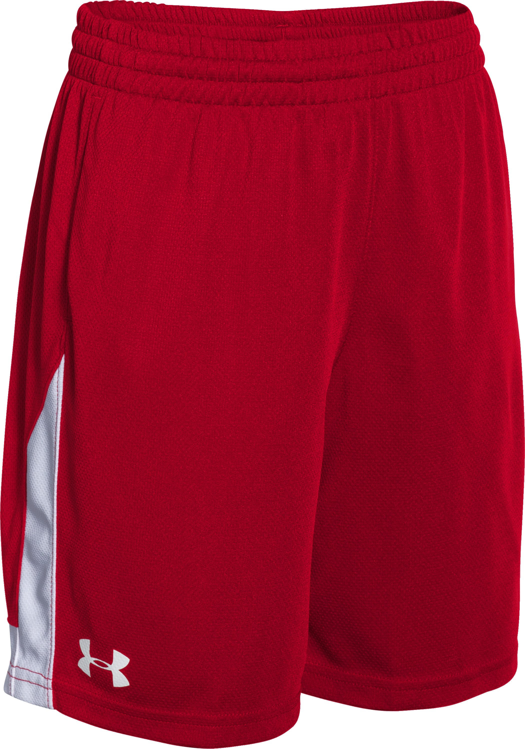 Boys' UA Assist Shorts, Red