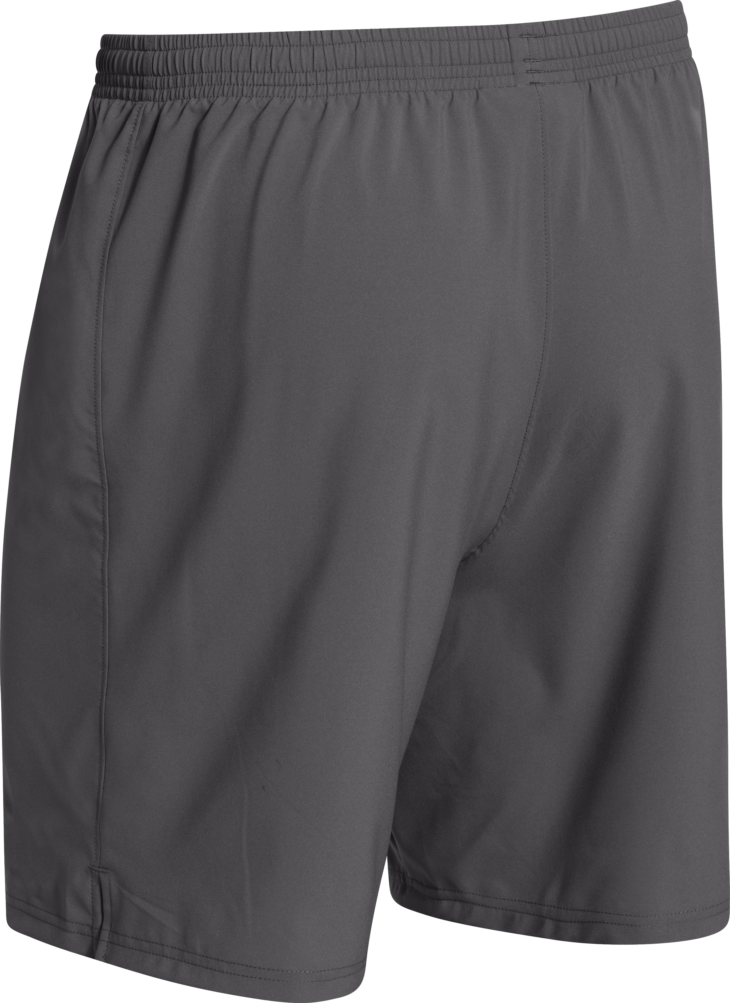 Men's UA Hustle Soccer Shorts, Graphite