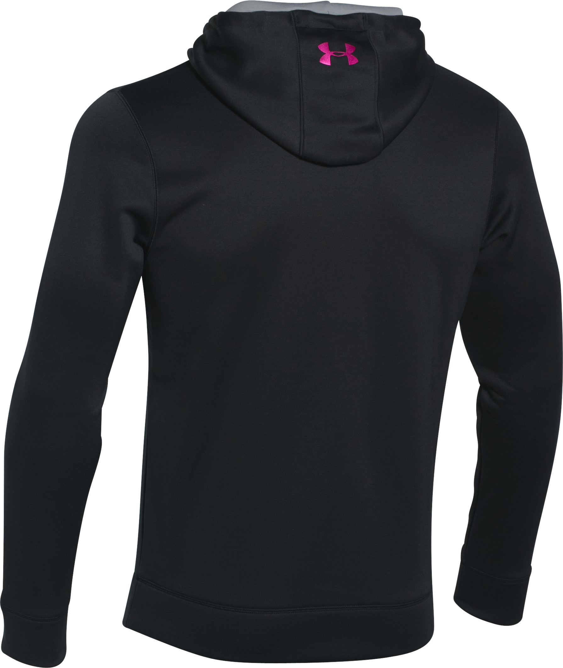 Men's UA Storm Armour Fleece® Big Logo Hoodie, Black ,