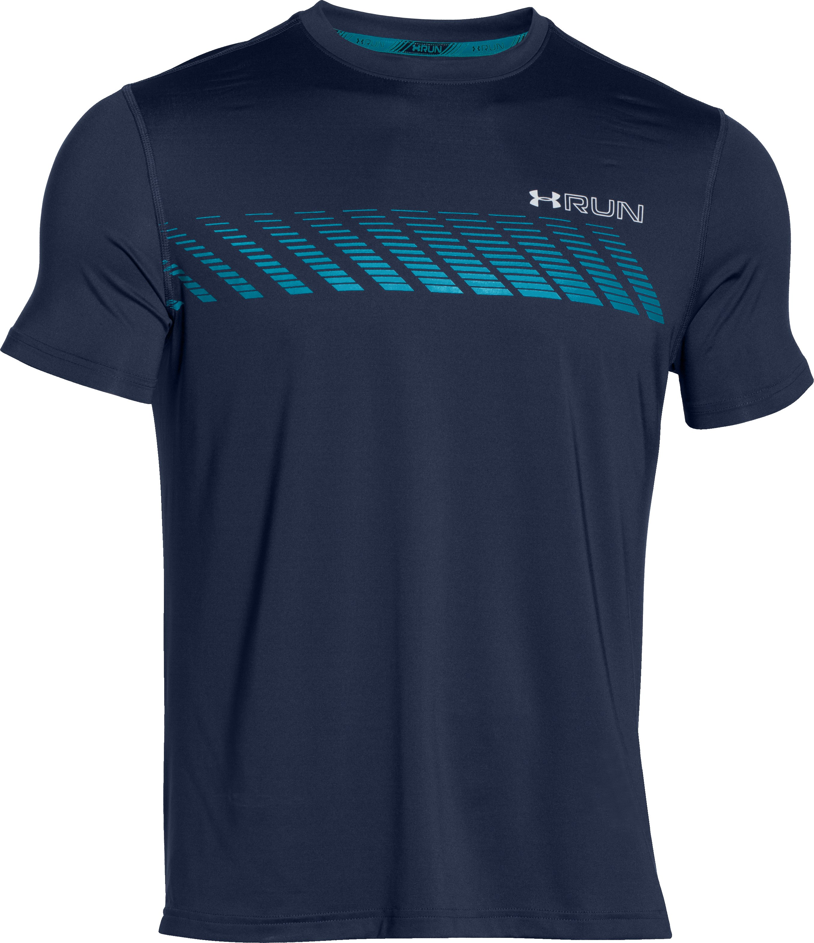 Men's HeatGear® ArmourVent™ Apollo Short Sleeve, Academy,