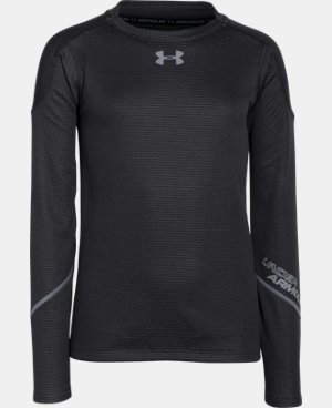 Boys' UA ColdGear® Infrared Grid Hybrid Mock LIMITED TIME: FREE U.S. SHIPPING 2 Colors $22.49