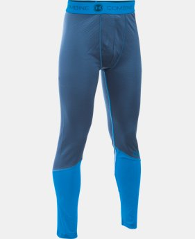Boys' UA Combine® Training ColdGear® Infrared Fitted Leggings  1 Color $29.99