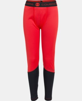 Boys' UA Combine® Training ColdGear® Infrared Fitted Leggings