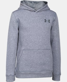 Boys' UA Rival Fleece Hoodie  1 Color $29.99