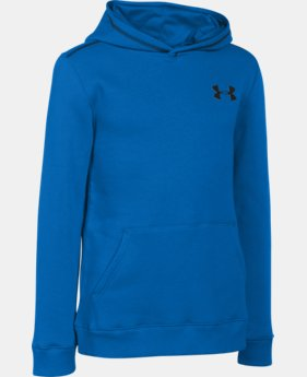 New Arrival Boys' UA Rival Fleece Hoodie  4 Colors $26.99