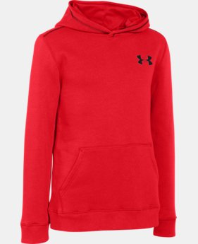 New Arrival Boys' UA Rival Fleece Hoodie  1 Color $26.99