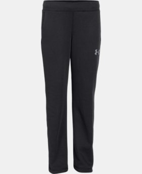 Boys' UA Rival Fleece Pants  1 Color $34.99