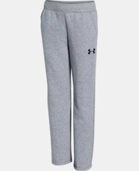 Boys' UA Rival Fleece Pants  1 Color $26.99