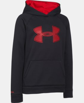 Boys' UA Storm Armour® Fleece Big Logo Hoodie  14 Colors $33.99