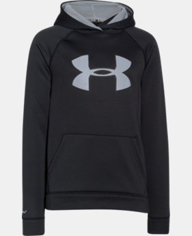 Boys' UA Storm Armour® Fleece Big Logo Hoodie LIMITED TIME OFFER + FREE U.S. SHIPPING  $25.49 to $33.99