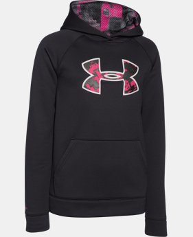 Boys' UA Storm Armour® Fleece Big Logo Hoodie LIMITED TIME OFFER + FREE U.S. SHIPPING 1 Color $25.49 to $33.99