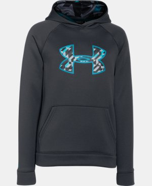 Boys' UA Storm Armour® Fleece Big Logo Hoodie LIMITED TIME: FREE U.S. SHIPPING 4 Colors $25.49 to $33.99