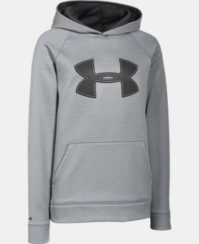 Boys' UA Storm Armour® Fleece Big Logo Hoodie  7 Colors $31.49