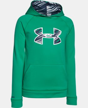 Boys' UA Storm Armour® Fleece Big Logo Hoodie  5 Colors $33.99