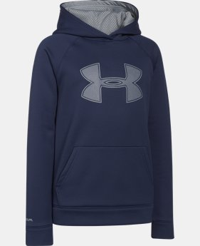Boys' UA Storm Armour® Fleece Big Logo Hoodie  1 Color $25.49 to $33.99