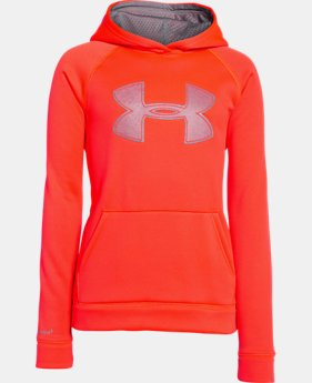 Boys' UA Storm Armour® Fleece Big Logo Hoodie LIMITED TIME OFFER + FREE U.S. SHIPPING 8 Colors $25.49 to $33.99