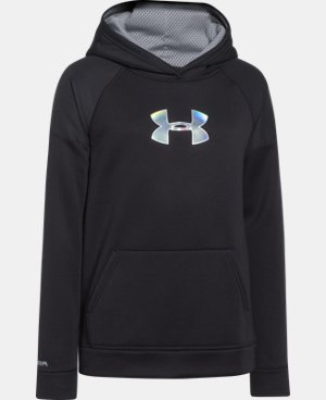Boys' UA Storm Armour® Fleece Woven Hoodie LIMITED TIME: FREE U.S. SHIPPING 1 Color $28.49 to $37.99