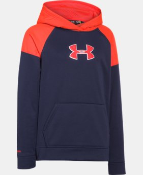 Boys' UA Storm Armour® Fleece Woven Hoodie   $37.99